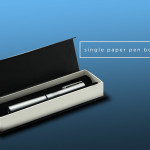 Single Pen Box with Black Sleeve