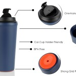 Double Wall Suction Cup (430ml)